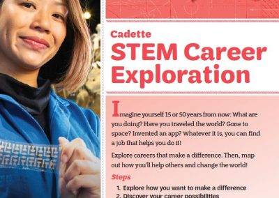Girl Scouts of the United States of America <br>Cadette STEM Career Exploration